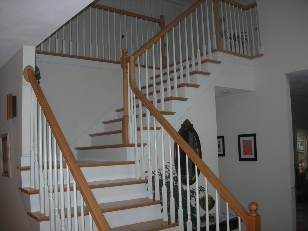 Interior Stairs- Boxford, MA.