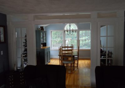 Sutton-Dining Room/Kitchen Addition-Burlington, MA.